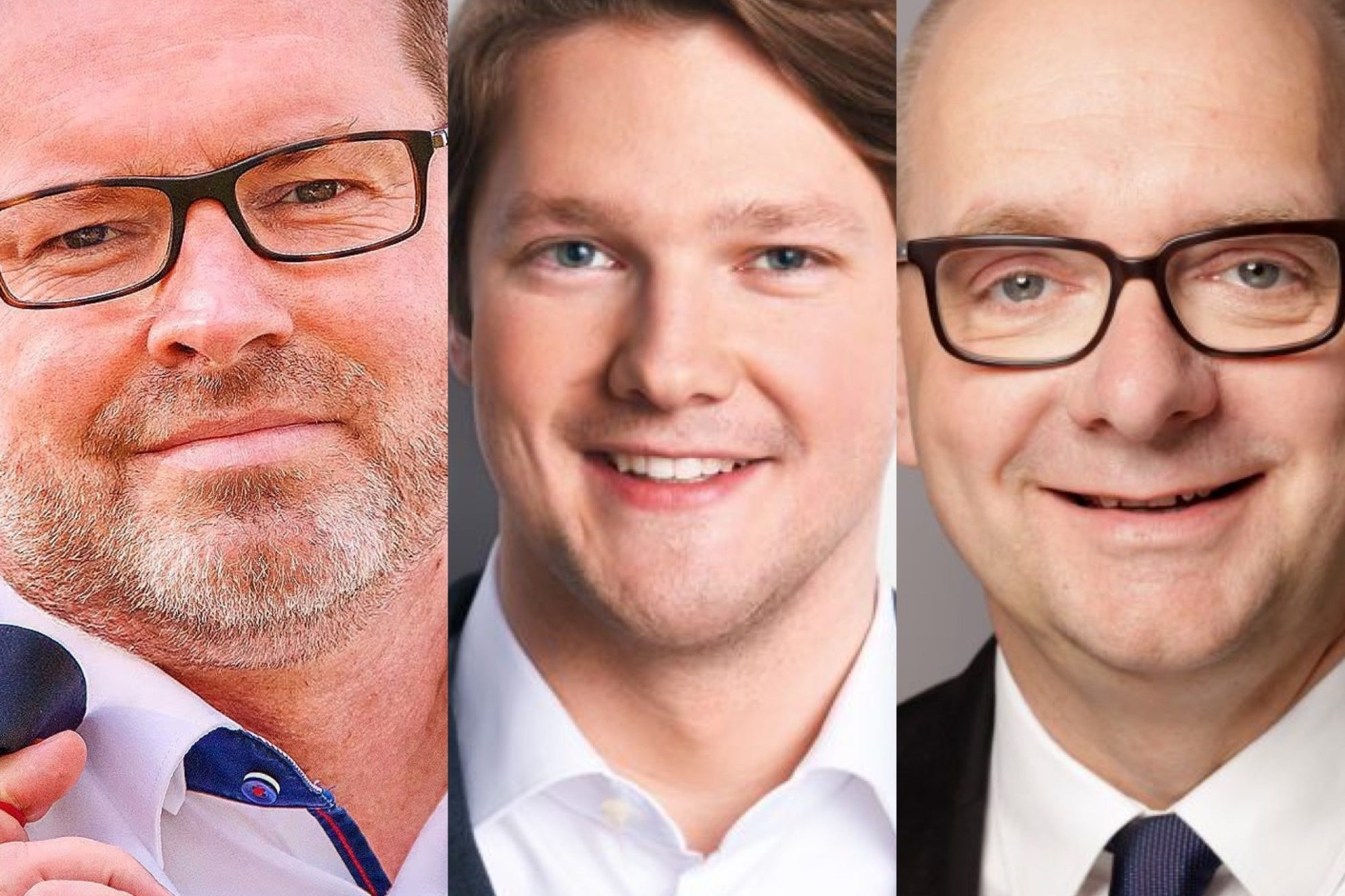 Jürgen Coße, Robert von Olberg, Andre Stinka